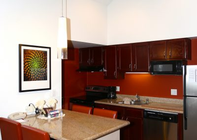 SenS Extended-Stay Residence Livermore Penthouse Kitchen