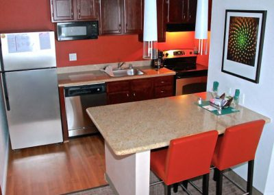 SenS Extended-Stay Residence Livermore Penthouse Dining