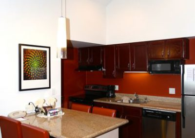SenS Extended-Stay Residence Livermore Dining